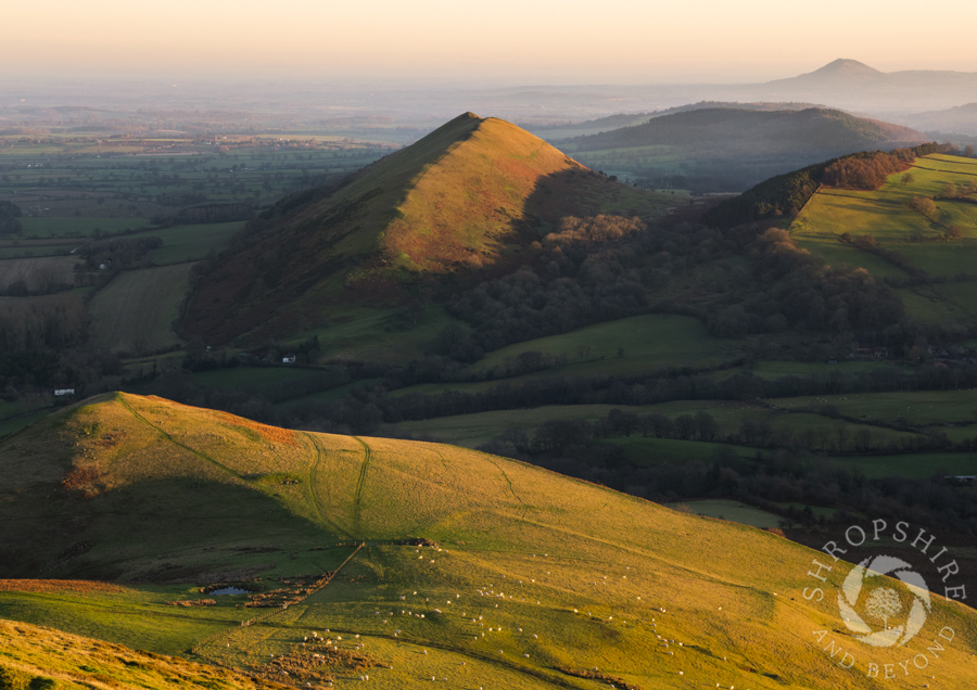 Sunrise from Caradoc