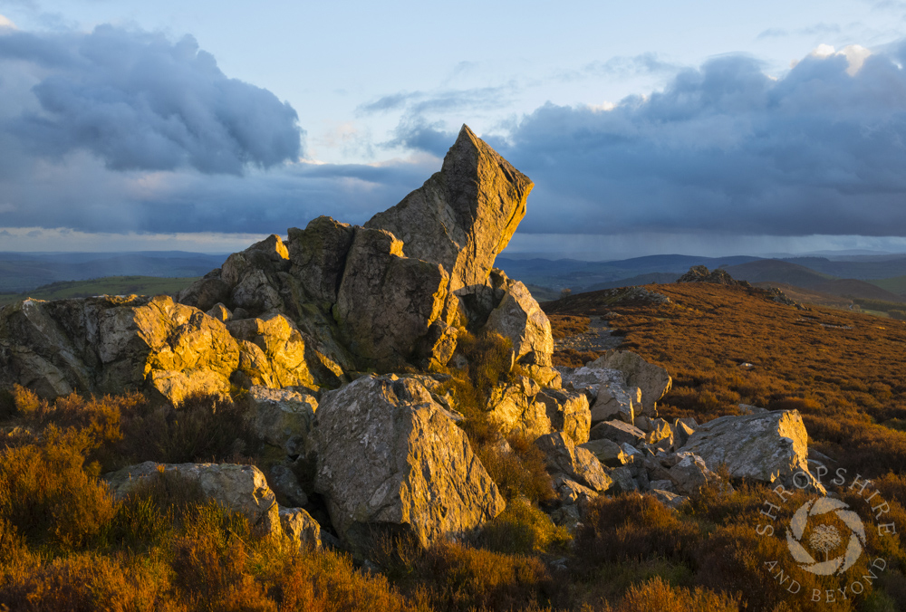 Light and shadows on the Stiperstones