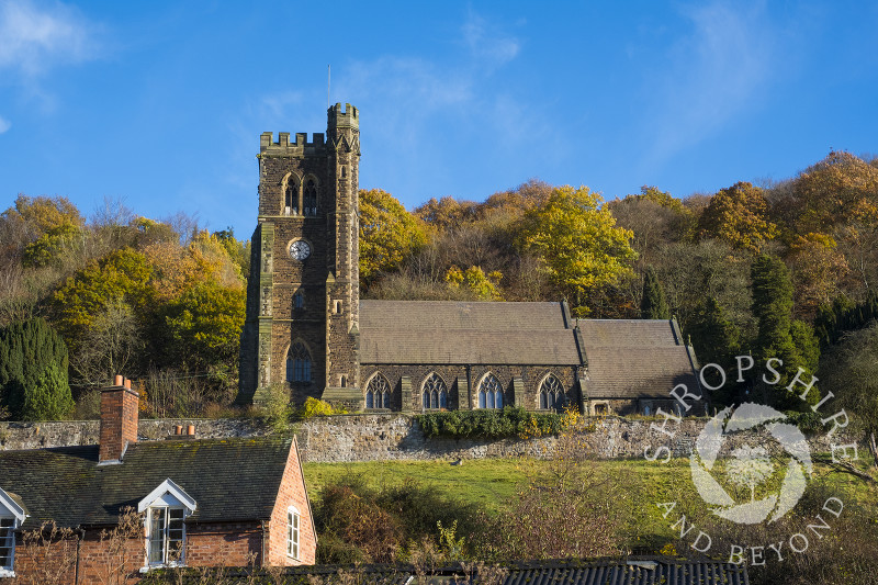 Holy Trinity Church in Coalbrookdale, Shropshire.