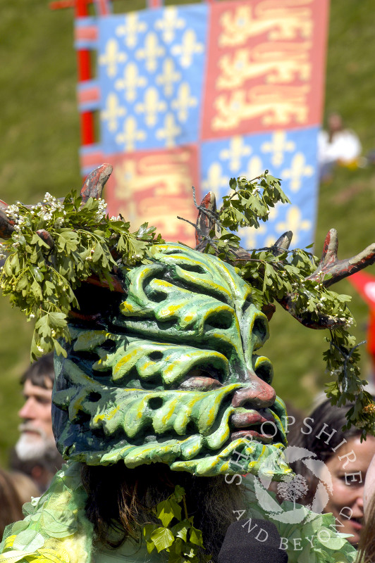 The Green Man Festival at Clun, Shropshire.