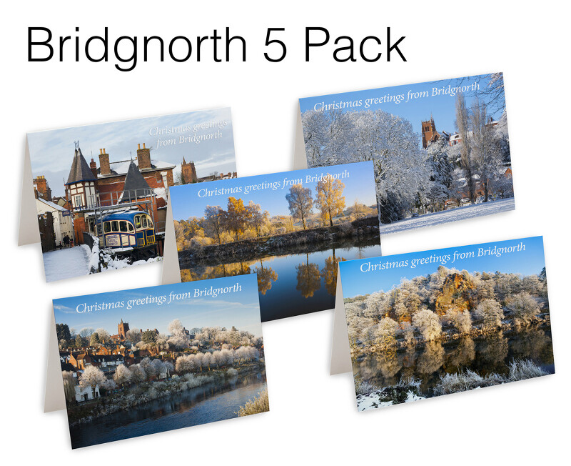 5 Bridgnorth Christmas Cards