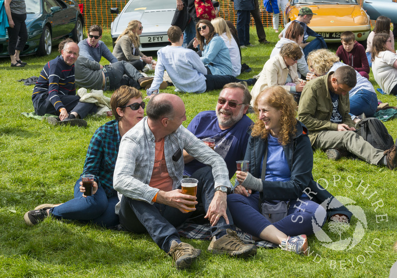 Visitors to the 2017 Ludlow Spring Festival.