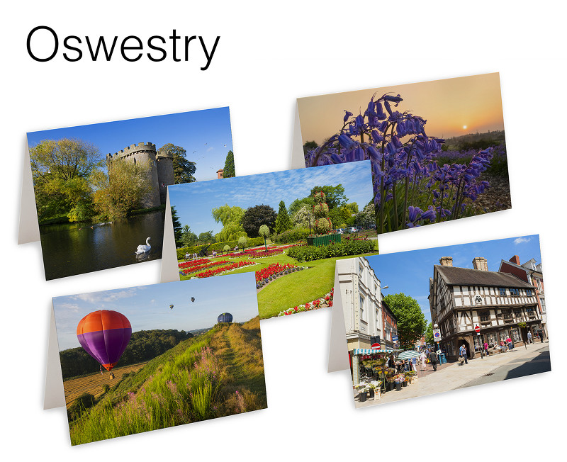 5 Oswestry Greetings Cards