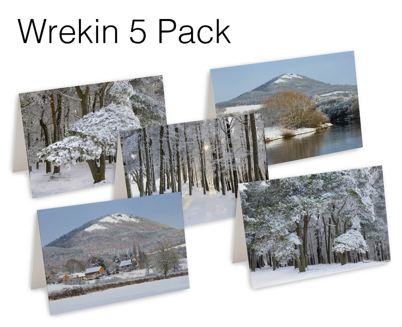 5 Wrekin Christmas Cards