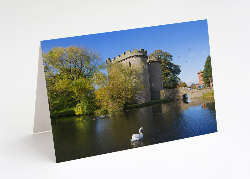 Whittington Castle near Oswestry, Shropshire.