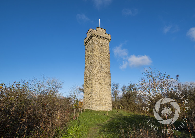 Flounders Folly on Callow Hill, Shropshire.