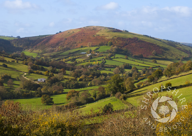 Caer Caradoc in the Redlake Valley, Shropshire.