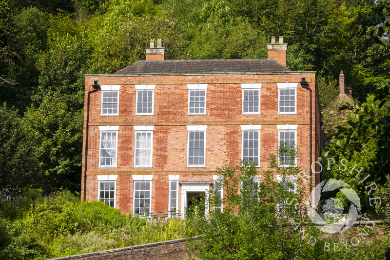 Dale House, former home of the Darby Family, Coalbrookdale, Shropshire.