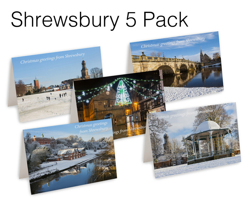 5 Shrewsbury Christmas Cards